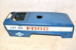 Vintage 70s Ford Lgt-165 Garden Tractor Hood Jacobsen Riding Lawn Mower Part