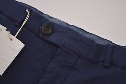 Nwt Brunello Cucinelli Size Us 40 56 New Casual Dress Pants In Blue Navy