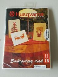 Husqvarna Sewing Machine Embroidery Designs Disk 18 Christmas For Designer 1