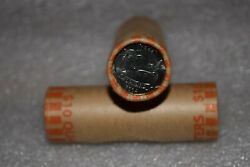 2004-p Wisconsin State Quarter Bu Machine Wrapped Roll-  Heads-tails