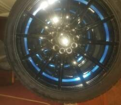 Goodyear Eagle Sport 245/40r18 S With Drag Concept Wheels Set Of 4 Brand New