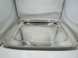 And Company Sterling Silver Tray John C Moore 43.25 T Oz