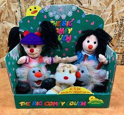 Big Comfy Couch Plush Set Commonwealth Loonette/molly/fuzzy/wuzzy/snicklefritz