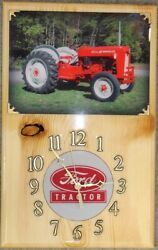 Ford 601 Workmaster Wood Clock