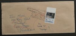 1997 Kuwait Return To Sender Cover Ties 150f Stamp To Traralgon
