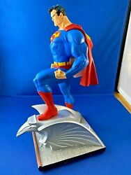 Superman Jim Lee Hush Dc Direct Full Size Statue Limited Edition 5916 Of 6500.