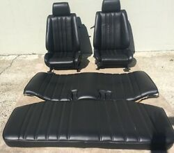 Bmw E30 325/318 New Re-upholstered Leather Seats Set For Is And I 1982-91 2900.