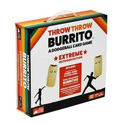 Throw Throw Burrito By Exploding Kittens Extreme Outdoor Edition - A Dodgeball