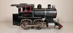 Lionel Prewar 5 Engine 0-4-0, One Boiler Band, Tall Coal Bunker With No Tender