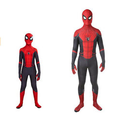 Spider-man Far From Home Jumpsuit Cosplay Costume Spandex Zentai Bodysuit Gifts