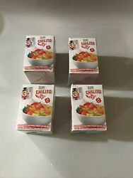 Klass Chilito To Go Seasoning Spices 4 Boxes Chili Pepper Lime 96 Packets