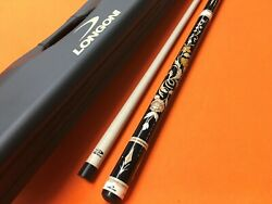 Longoni Pool Cue Magnifica And Case Limited Edition .