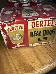 Oertels Real Draft Beer Cansbone Dry Empty