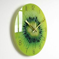 Nordic Glass Wall Clock Modern Large Thick Watch Kitchen Living Room Home Decors