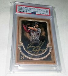 2018 Topps Museum Collection Bryce Harper Wood Framed Autograph Auto 1/1 Psa 10