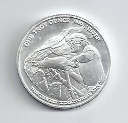 Pan American .999 Silver Round 1 Troy Oz Northwest Territorial Mint