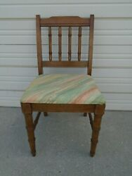 Desk Chair Faux Bamboo Dixie Sim Henry Link Hollywood Regency Dining Vanity Seat