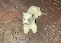 resin terrier about 1.5 inches figure Collectible Dog