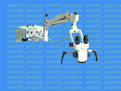 Wall Mount Zoom Ent Microscope With Ccd Camera And Beam Splitter Aa