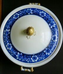 Johnson Brothers Flow Blue Vegetable Turin With Cover