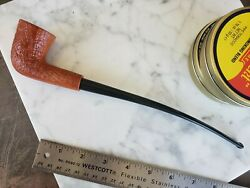 His Churchwarden Large Dublin Estate Pipe Unsmoked Italy Quality Blast