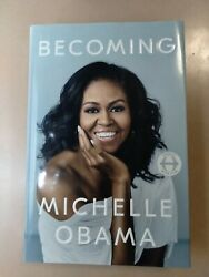Becoming By Michelle Obama Signed First Edition Hardcover Mint