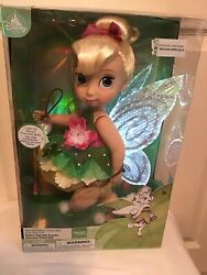 Disney Animator Special Edition Tinker Bell 16andrdquo Light Up Doll New