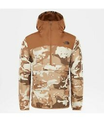 The Fanorak Neuf Marron Camouflage Taille S Anorak Pluie Coupe Vent