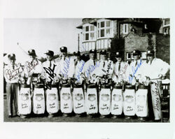 The 1961 Ryder Cup American Team - Autographed Signed Photograph With Co-signers