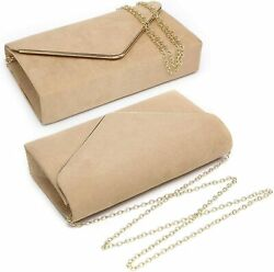 Dasein Women#x27;s Evening Clutch Bags Formal Party Clutches Wedding Purses Cocktail $55.34