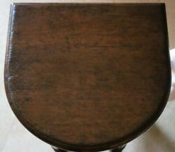 Rose Tarlow Horse Shoe Demilune Side Table Hollywood Regency Mcm Neoclassical