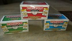Monopoly Surprise Community Chest Complete Set Of 27 Tokens