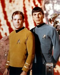 Star_trek_kirk_and_spock- Poster A0-a4 Film Movie Picture Art Wall Decor Actor