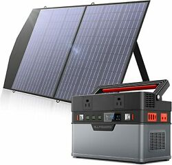 ⚡100w Folding Solar Panel Portable Solar Generator Power Station For Camping Cpa