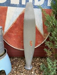 Vintage F7566a-2 Hartzell Aviation Aircraft Propeller Blade Prop Display Or Use