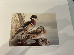 1993 - 2001 9 Prints And Stamps Ducks Unlimited Art Prints
