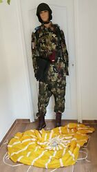 Romanian Scouts Paratroopers Airborne Army Military Uniform Woodland Camouflage