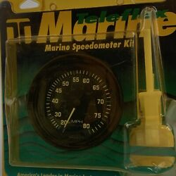Speedometer 80 Mph 3 56928p Kit Includes Pitot And Tube Teleflex