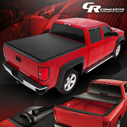 Roll-up Truck Bed Top Vinyl Soft Tonneau Cover For 2019-2021 Ford Ranger 6' Bed