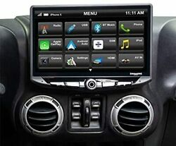 Stinger-sth10jk Stereo 10-in Touchscreen Radio W/ Android Auto Apple Carplay..