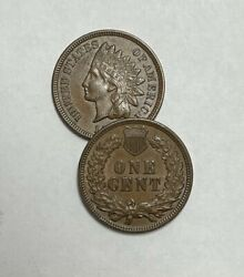 1898 Indian Head Cent About Uncirculated