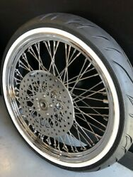 21 X 3.5-60 Spoke Front Wheel 120/70 Www Tire 2007and039-2014and039 Harley Flstc Heritage