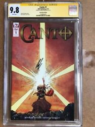 Canto 1 Convention Issue Cgc Ss 9.8 Signed By Drew Zucker - New Tv Series Soon