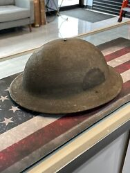 Wwi Doughboy 1917 Helmet 78 Lightning Division Free Shipping