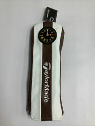New Rare Taylormade 2021 British Open Championship 3 Wood Head Cover White Brown