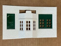 Plasticville Passenger Station Front Piece With Door And Windows Ho Scale