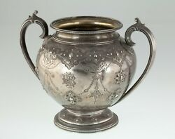 Ornate Sterling Silver Urn By Edward Barnard And Sons London 1875