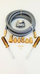 Natural Gas Ng Conversion Kit For Weber Genesis E-320 Side Mounted Controls