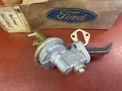 1968 1969 Ford Mustang Shelby Carter 289 302 351 4567s Button Top Fuel Pump Nos