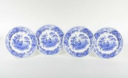 Spode Blue Room Garden Collection Girl At Well Dinner Plate Set Of 4